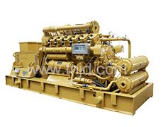 190系列400-700KW沼气发电机组