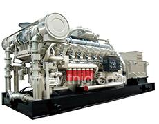 190系列300-500KW生物质气发电机组