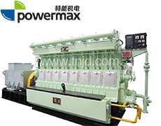 300系列400-1000KW兰炭气发电机组