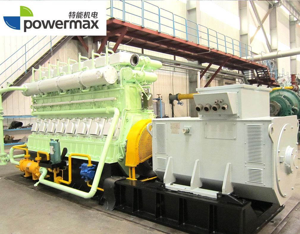 500KW油母页岩气发电机组