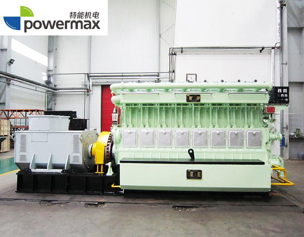 1200KW秸秆气发电机组