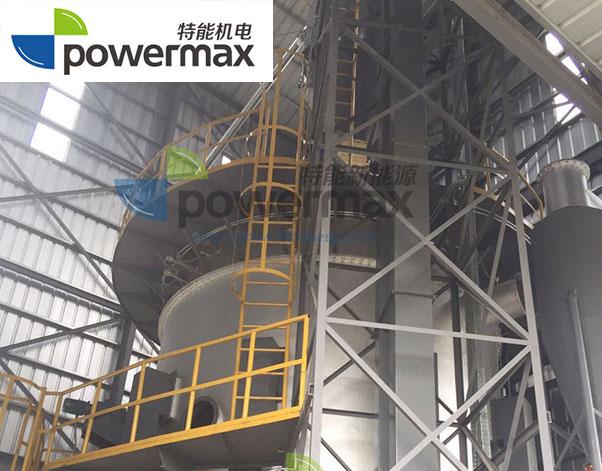 特能生物质热解气化炉联产生物质炭供热系统