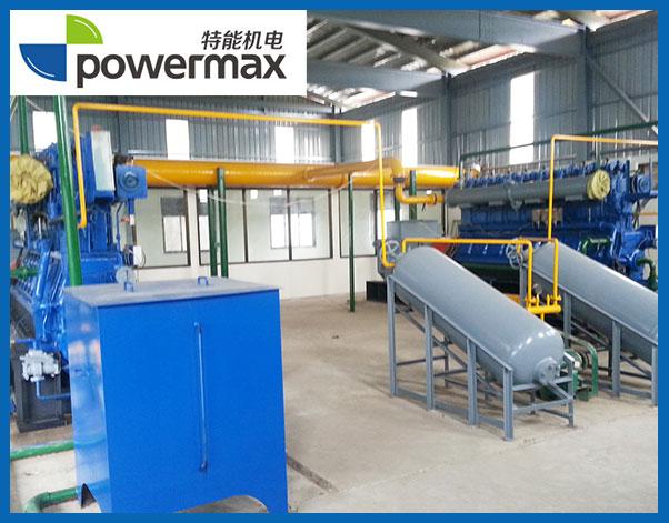 2台500KW生物质燃气发电机组