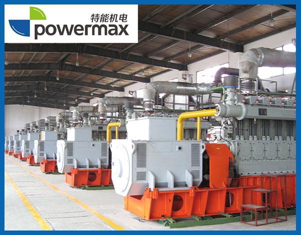 8台500KW生物质燃气发电机组
