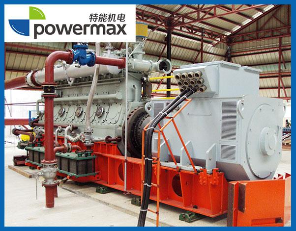 1台400KW生物质燃气发电机组
