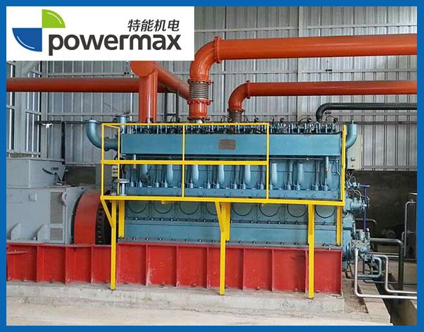 2台400KW生物质气发电机组