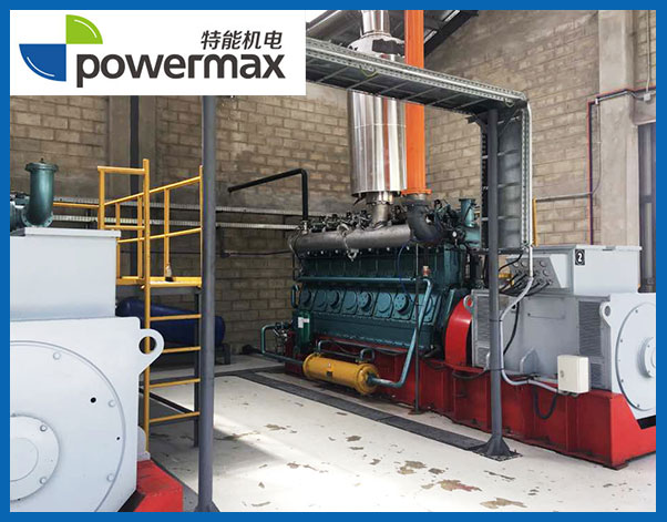 2X500KW生物质气化发电机组