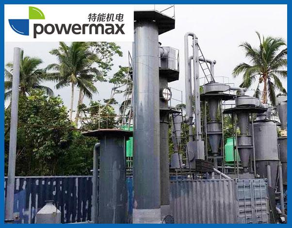 位于菲律宾的200KW的焦炭气化发电站