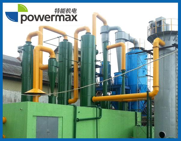 位于缅甸的800KW生物质气化发电厂