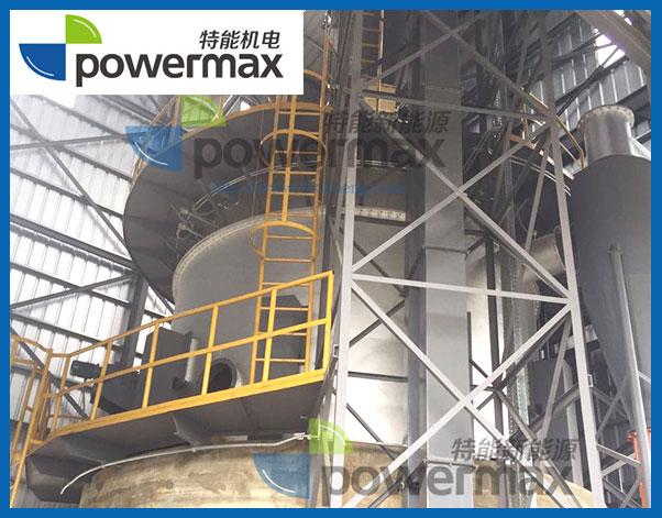位于多米尼加的1MW稻壳气化发电站