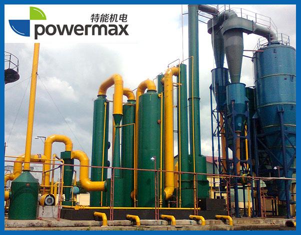 2MW 生物质秸秆气化发电站