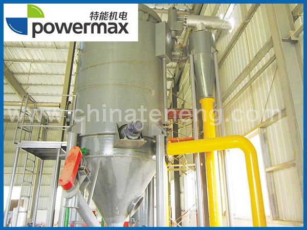 1MW生物质(木片)气化发电系统-上气式固定床气化炉