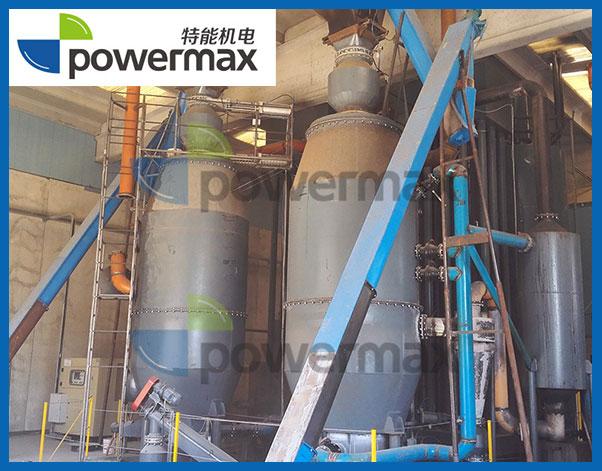 意大利2X200KW生物质气化发电系统
