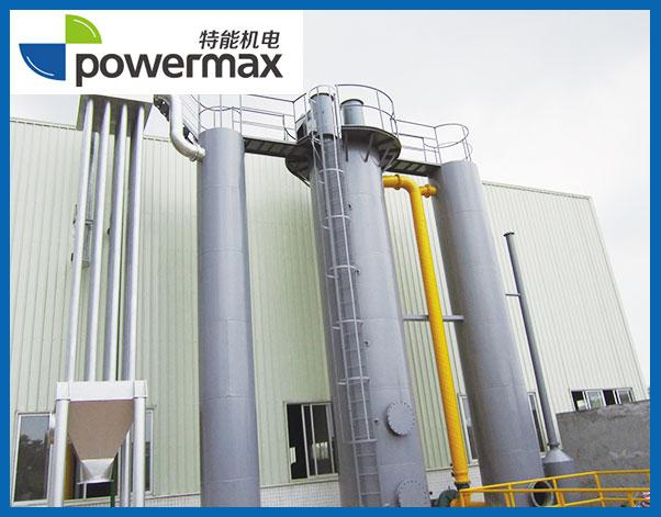 600KW生物质(秸秆块)气化发电系统-上气式固定床气化炉