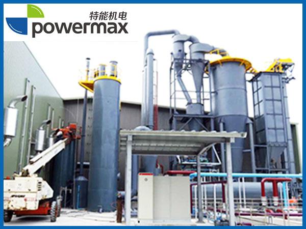 台湾2000KW稻秆气化发电项目