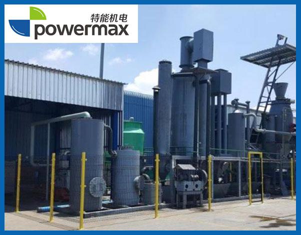 南非100KW废木料气化发电项目