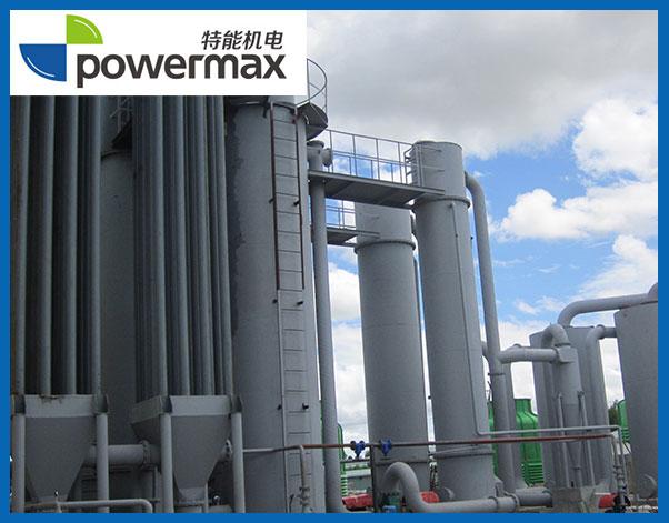 1.5MW生物质(稻壳)气化发电站
