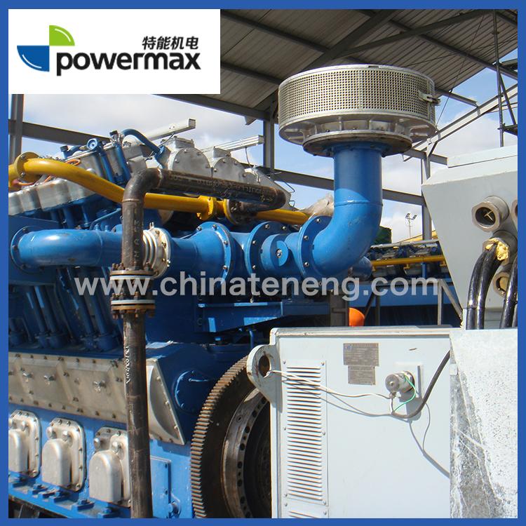 哥伦比亚12*1200KW天然气发电机组